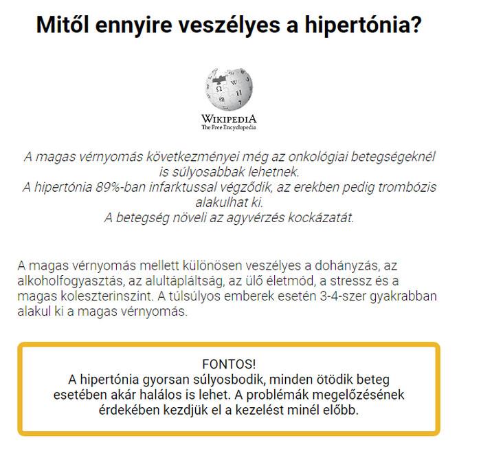 hipertónia fórum vélemények