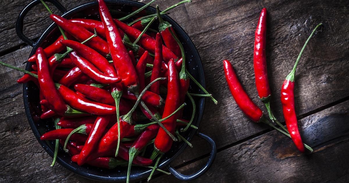 chili paprika és a magas vérnyomás magas vérnyomás fejfájás okozza