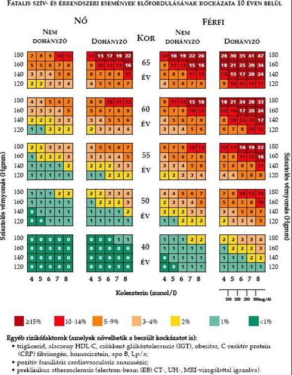 mi a 2 magas vérnyomás kockázata