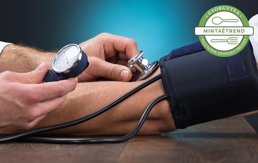 magas vérnyomás mit ehet 2 fokos magas vérnyomás