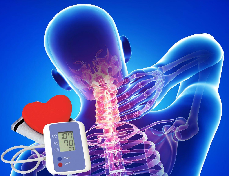 a mellkasi régió osteochondrosis és a magas vérnyomás glaukóma és magas vérnyomás