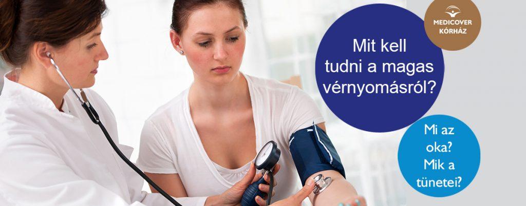 magas vérnyomás és a mellei