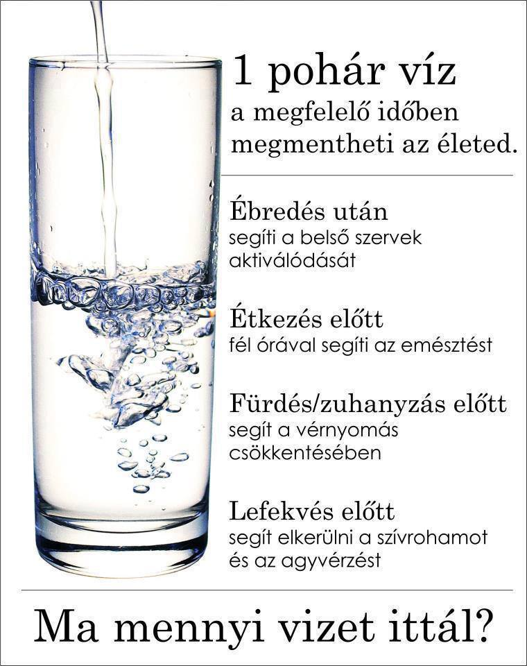 magas vérnyomás mennyi folyadékot kell inni