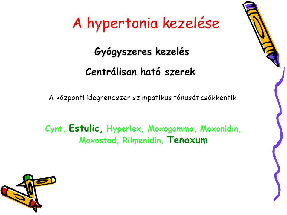 moxonidin gyógyszer magas vérnyomás ellen