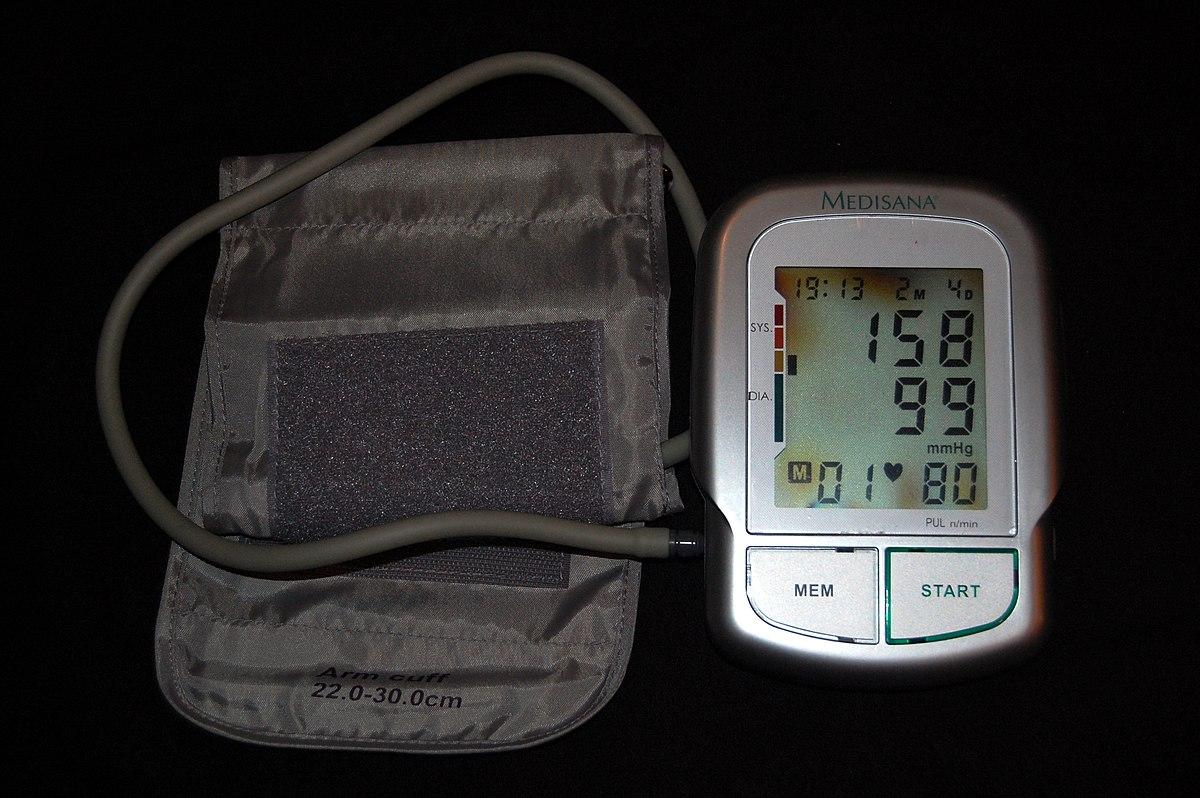 átlagos napi nyomás magas vérnyomásban