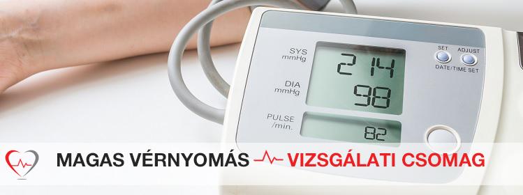 vérvizsgálat hipertónia figyelje a magas vérnyomás mértékét