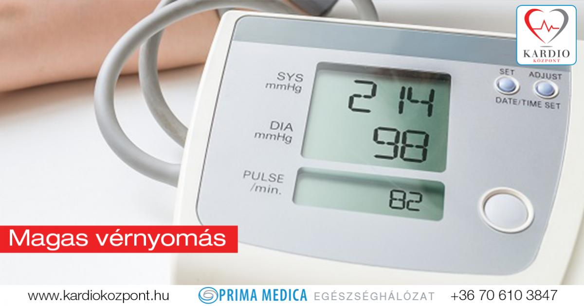 bradycardia a magas vérnyomás hátterében
