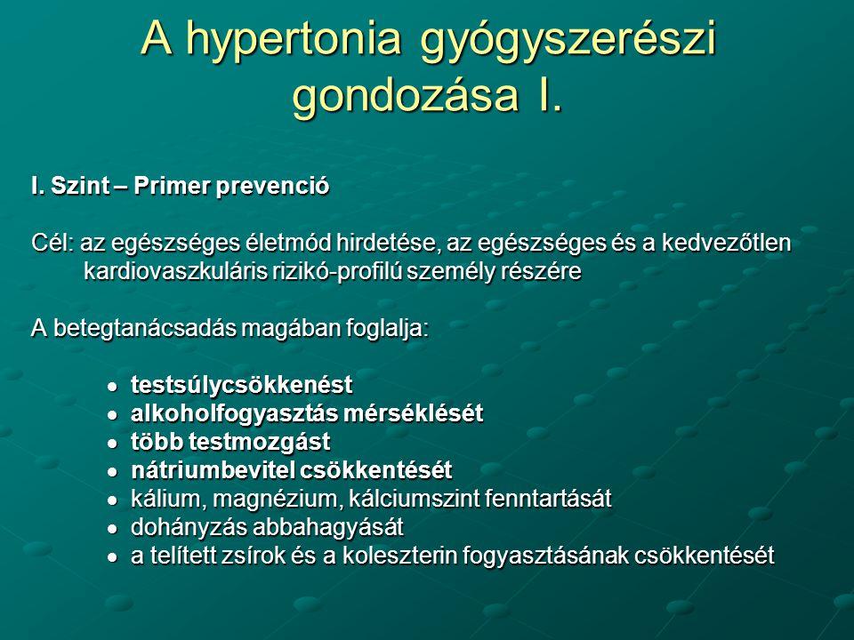 jód hipertónia kezelési rend mi a különbség a magas vérnyomás és az ncd között