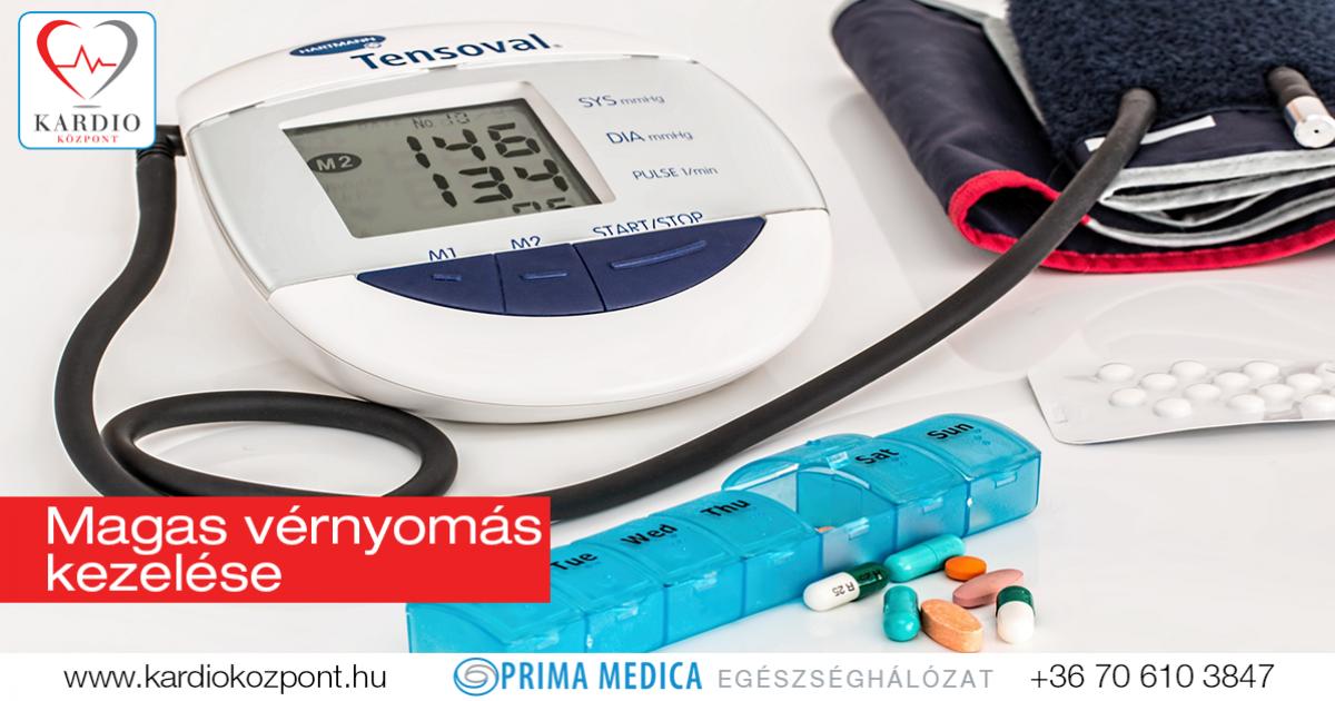 magas vérnyomás kezelés házilag